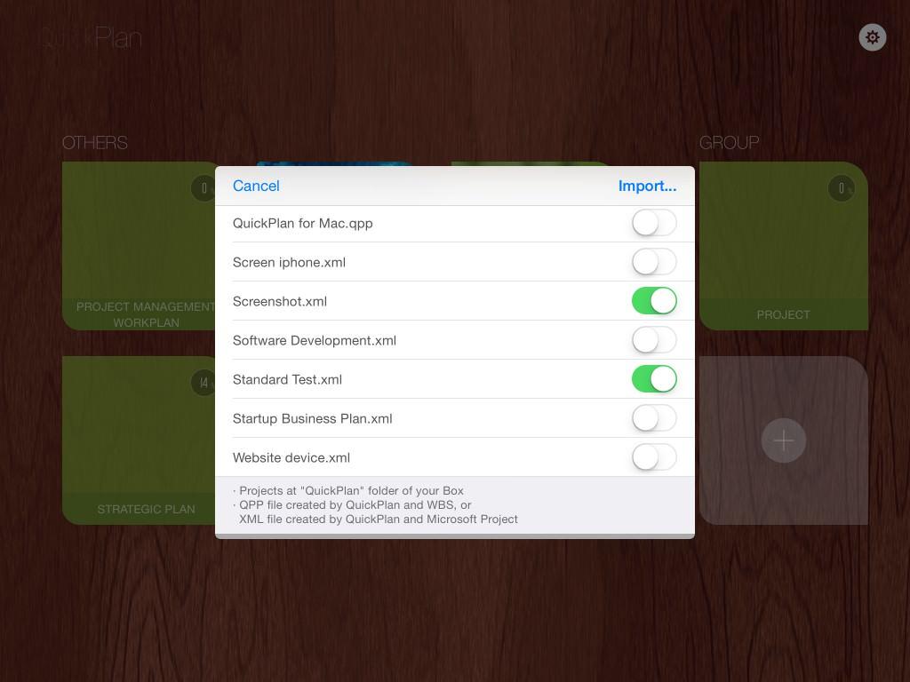 Sharing via Box Cloud | QuickPlan for iOS